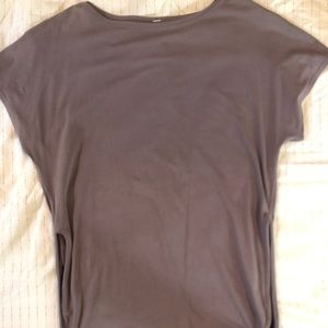 Lululemon T-shirt with side slit